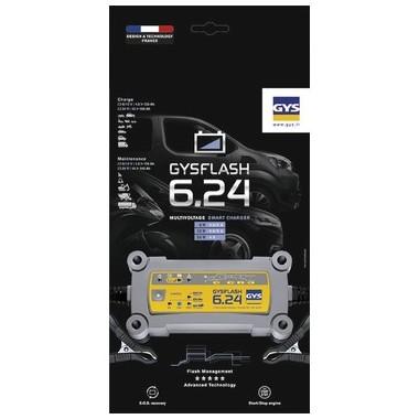 Chargeur moto Gysflash 6.24