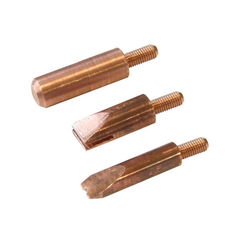 électrodes pour manuspot et manuliner (x3)