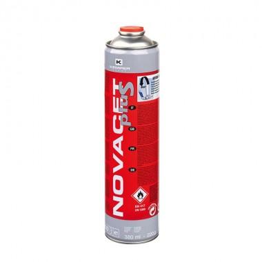 CARTOUCHE GAZ NOVACET TOUTES POSITIONS 380ml (220g de gaz)