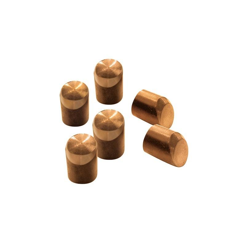 6 caps biseautés