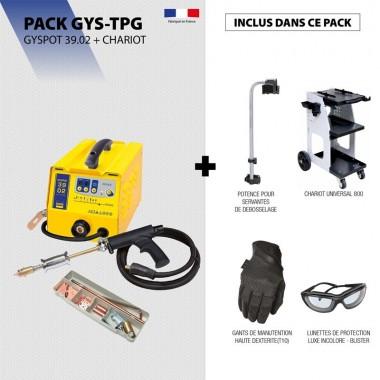 Pack GYSPOT 39.02 + Chariot
