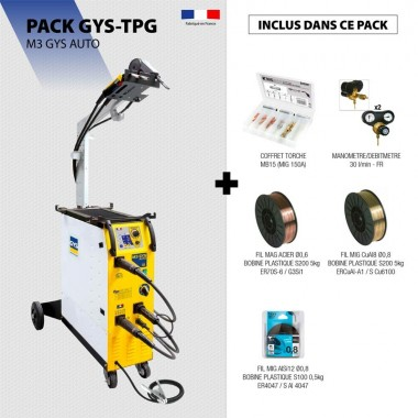 Pack M3 GYS AUTO