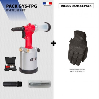 Pack RIVETEUSE HR21