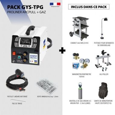Pack PROLINER ARCPULL + GAZ
