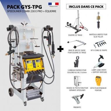 Pack SPEEDLINER COMBI 230 E PRO + ÉQUERRE