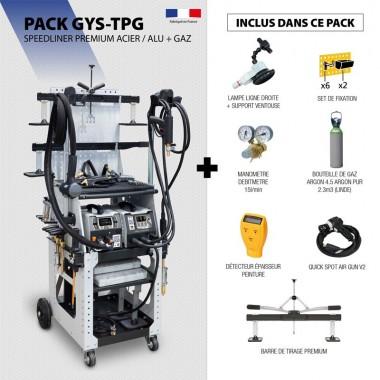Pack SPEEDLINER PREMIUM ACIER / ALU + GAZ