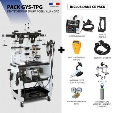 Pack DENTSTATION PREMIUM ACIER / ALU + GAZ