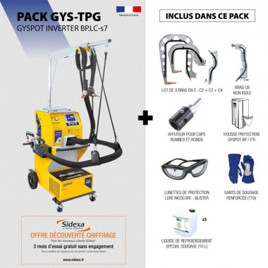 Pack GYSPOT INVERTER BP.LC-s7