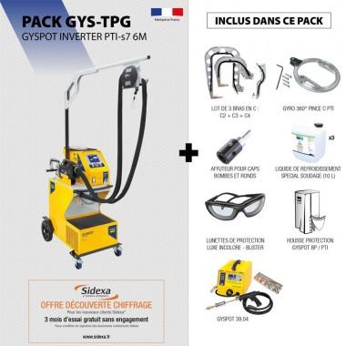 Pack GYSPOT INVERTER PTI-s7 6M
