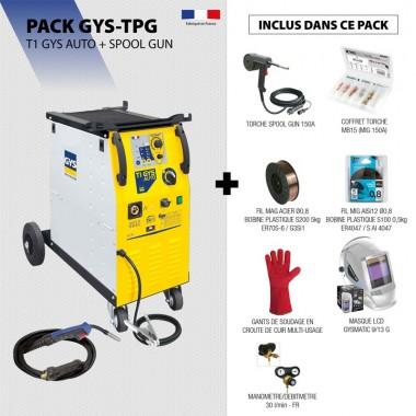 Pack T1 GYS AUTO + SPOOL GUN
