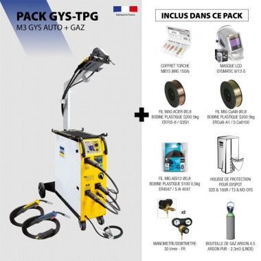 Pack M3 GYS AUTO + GAZ