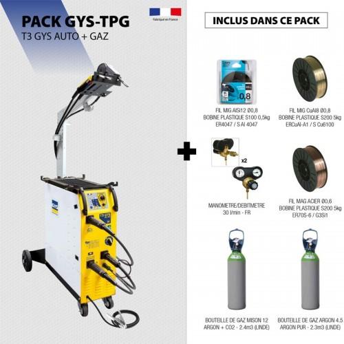Pack T3 GYS AUTO + GAZ