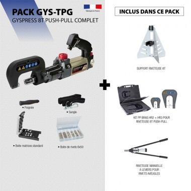 Pack GYSPRESS 8T PUSH-PULL COMPLET