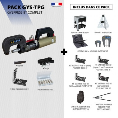 Pack GYSPRESS 8T COMPLET