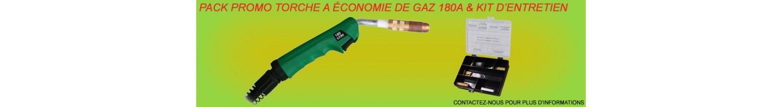 Torche soudage MIG économie d'énergie