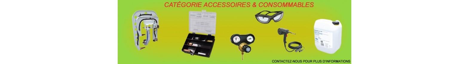 Accessoires et consommables soudage